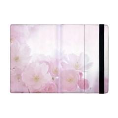 Pink Blossom Bloom Spring Romantic Ipad Mini 2 Flip Cases by BangZart
