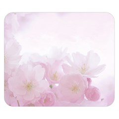 Pink Blossom Bloom Spring Romantic Double Sided Flano Blanket (small)  by BangZart