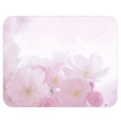 Pink Blossom Bloom Spring Romantic Double Sided Flano Blanket (medium)  by BangZart