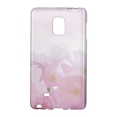 Pink Blossom Bloom Spring Romantic Galaxy Note Edge by BangZart