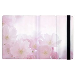 Pink Blossom Bloom Spring Romantic Apple Ipad Pro 9 7   Flip Case by BangZart