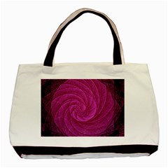 Purple Background Scrapbooking Abstract Basic Tote Bag