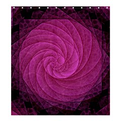Purple Background Scrapbooking Abstract Shower Curtain 66  X 72  (large)  by BangZart