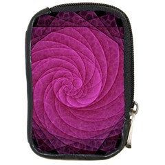 Purple Background Scrapbooking Abstract Compact Camera Cases by BangZart