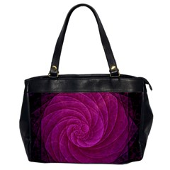 Purple Background Scrapbooking Abstract Office Handbags by BangZart