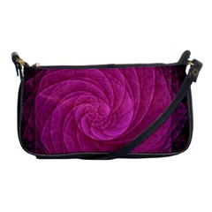 Purple Background Scrapbooking Abstract Shoulder Clutch Bags by BangZart