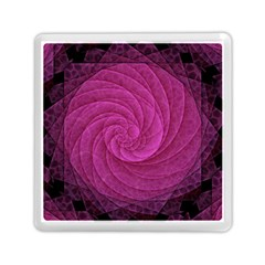 Purple Background Scrapbooking Abstract Memory Card Reader (square)