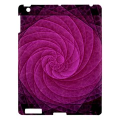 Purple Background Scrapbooking Abstract Apple Ipad 3/4 Hardshell Case