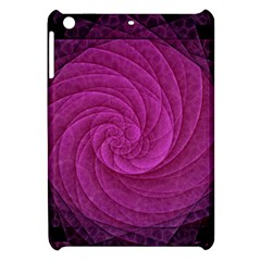 Purple Background Scrapbooking Abstract Apple Ipad Mini Hardshell Case by BangZart