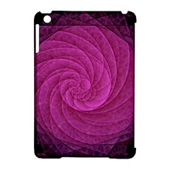 Purple Background Scrapbooking Abstract Apple Ipad Mini Hardshell Case (compatible With Smart Cover) by BangZart