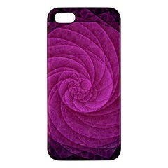 Purple Background Scrapbooking Abstract Iphone 5s/ Se Premium Hardshell Case by BangZart