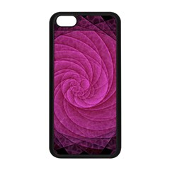 Purple Background Scrapbooking Abstract Apple Iphone 5c Seamless Case (black) by BangZart