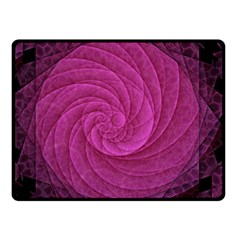 Purple Background Scrapbooking Abstract Double Sided Fleece Blanket (small)  by BangZart