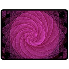Purple Background Scrapbooking Abstract Double Sided Fleece Blanket (large)  by BangZart