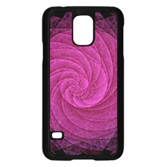 Purple Background Scrapbooking Abstract Samsung Galaxy S5 Case (black)