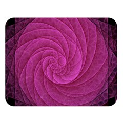 Purple Background Scrapbooking Abstract Double Sided Flano Blanket (large)  by BangZart