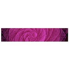 Purple Background Scrapbooking Abstract Flano Scarf (small) by BangZart