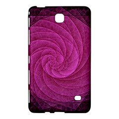 Purple Background Scrapbooking Abstract Samsung Galaxy Tab 4 (7 ) Hardshell Case  by BangZart