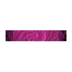 Purple Background Scrapbooking Abstract Flano Scarf (mini) by BangZart