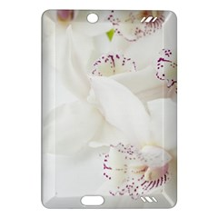 Orchids Flowers White Background Amazon Kindle Fire Hd (2013) Hardshell Case by BangZart