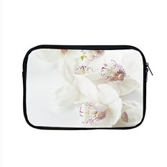 Orchids Flowers White Background Apple Macbook Pro 15  Zipper Case by BangZart