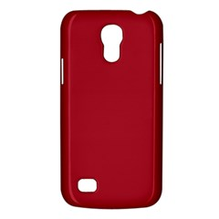 Usa Flag Red Blood Red Classic Solid Color  Galaxy S4 Mini by PodArtist