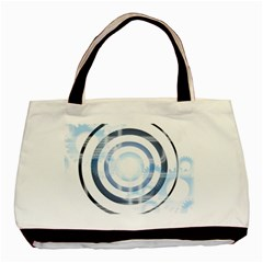 Center Centered Gears Visor Target Basic Tote Bag by BangZart