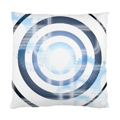 Center Centered Gears Visor Target Standard Cushion Case (two Sides) by BangZart