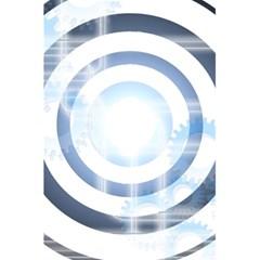 Center Centered Gears Visor Target 5 5  X 8 5  Notebooks by BangZart