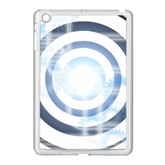Center Centered Gears Visor Target Apple Ipad Mini Case (white) by BangZart