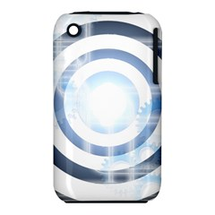 Center Centered Gears Visor Target Iphone 3s/3gs by BangZart