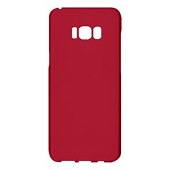 Usa Flag Red Blood Red Classic Solid Color  Samsung Galaxy S8 Plus Hardshell Case