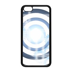 Center Centered Gears Visor Target Apple Iphone 5c Seamless Case (black)