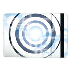 Center Centered Gears Visor Target Samsung Galaxy Tab Pro 10 1  Flip Case by BangZart