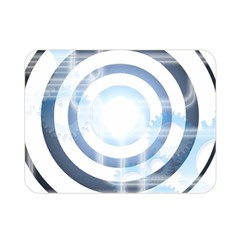 Center Centered Gears Visor Target Double Sided Flano Blanket (mini)