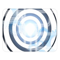 Center Centered Gears Visor Target Double Sided Flano Blanket (large)  by BangZart