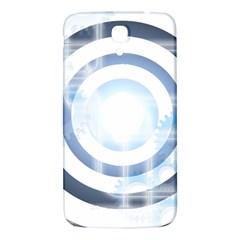 Center Centered Gears Visor Target Samsung Galaxy Mega I9200 Hardshell Back Case by BangZart