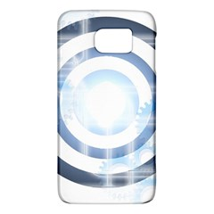 Center Centered Gears Visor Target Galaxy S6 by BangZart