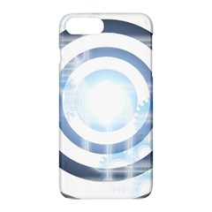 Center Centered Gears Visor Target Apple Iphone 7 Plus Hardshell Case