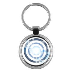 Center Centered Gears Visor Target Key Chains (round)  by BangZart