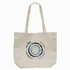Center Centered Gears Visor Target Tote Bag (cream) by BangZart