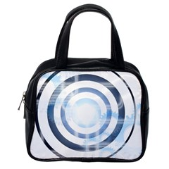 Center Centered Gears Visor Target Classic Handbags (one Side)