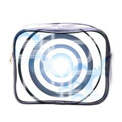 Center Centered Gears Visor Target Mini Toiletries Bags by BangZart