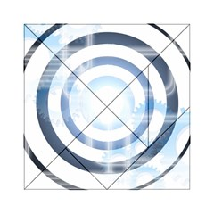 Center Centered Gears Visor Target Acrylic Tangram Puzzle (6  X 6 ) by BangZart