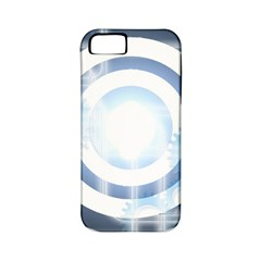 Center Centered Gears Visor Target Apple Iphone 5 Classic Hardshell Case (pc+silicone)