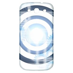 Center Centered Gears Visor Target Samsung Galaxy S3 S Iii Classic Hardshell Back Case by BangZart