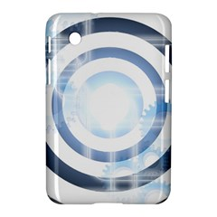 Center Centered Gears Visor Target Samsung Galaxy Tab 2 (7 ) P3100 Hardshell Case  by BangZart