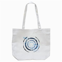 Center Centered Gears Visor Target Tote Bag (white) by BangZart