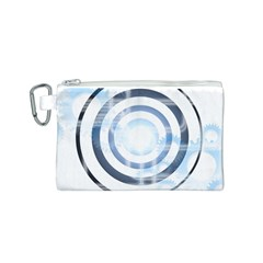 Center Centered Gears Visor Target Canvas Cosmetic Bag (s) by BangZart