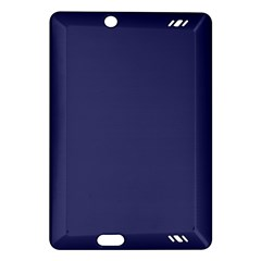 Usa Flag Blue Royal Blue Deep Blue Amazon Kindle Fire Hd (2013) Hardshell Case by PodArtist